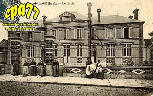 Beaumont Du Gâtinais - Les Ecoles