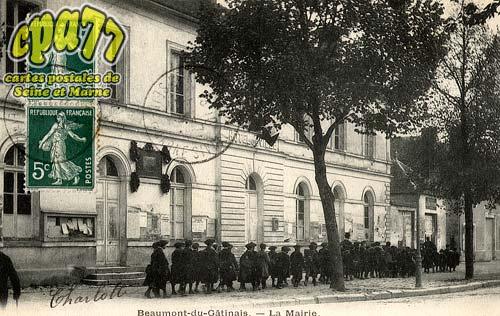 Beaumont Du Gâtinais - La Mairie