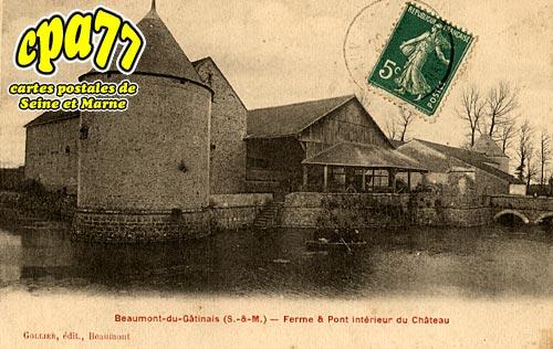 Beaumont Du Gâtinais - Ferme et Pont intérieur du Château