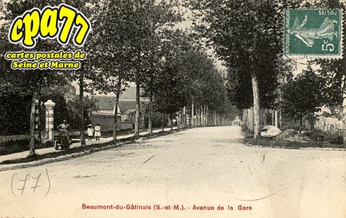 Beaumont Du Gâtinais - Avenue de la Gare