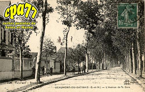 Beaumont Du Gâtinais - L'Avenue de la Gare