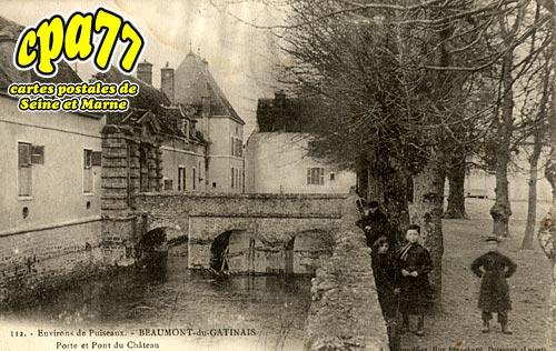 Beaumont Du Gâtinais - Porte et Pont du Château