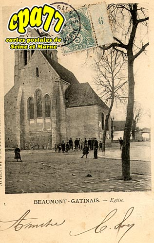 Beaumont Du Gâtinais - Eglise