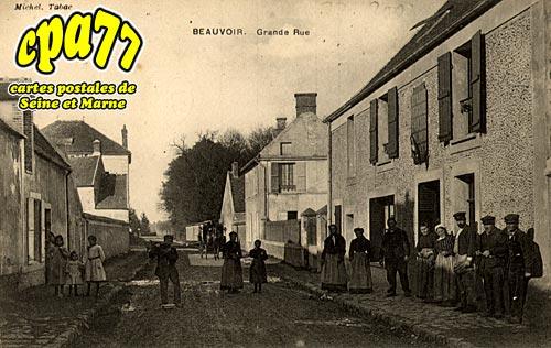 Beauvoir - Grande Rue