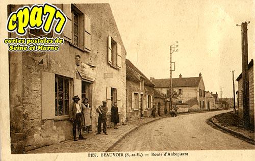 Beauvoir - Route d'Aubepierre