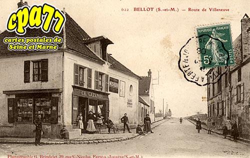 Bellot - Route de Villeneuve