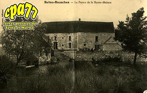 Beton Bazoches - La ferme de la Haute-Maison