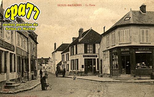 Beton Bazoches - La Poste