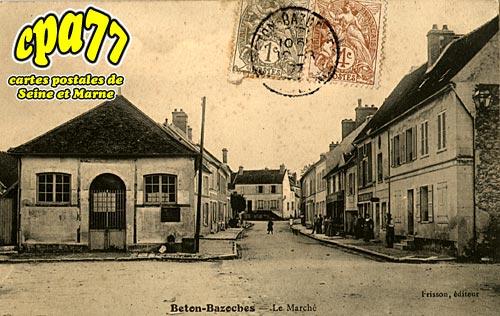 Beton Bazoches - Le Marché