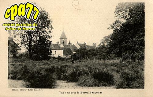 Beton Bazoches - Vue d'un coin de Beton-Bazoches