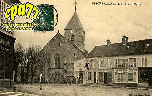 Beton Bazoches - L'Eglise