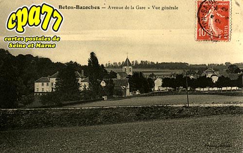 Beton Bazoches - Avenue de la Gare - Vue Générale