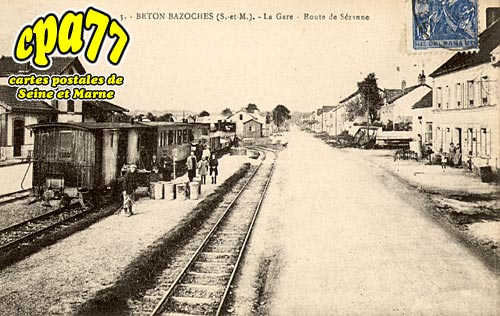 Beton Bazoches - La Gare - Route de Sézanne
