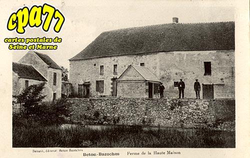 Beton Bazoches - Ferme de la Haute Maison