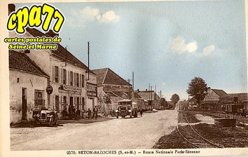 Beton Bazoches - Route Nationale Paris-Sézanne