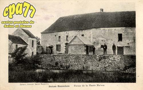 Beton Bazoches - Ferme de la Haute-Maison