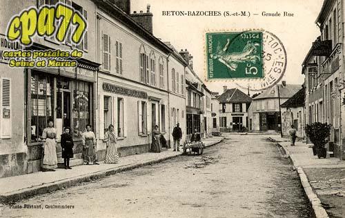 Beton Bazoches - Grande Rue