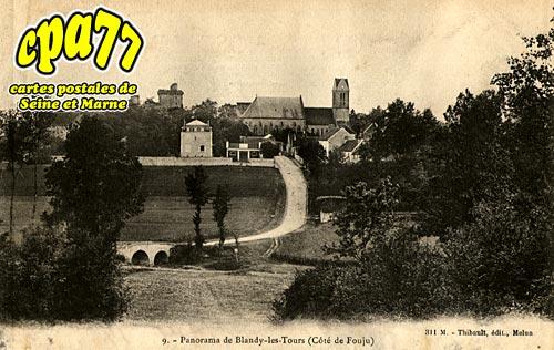 Blandy Les Tours - Panorama de Blandy-les-Tours (Côté de Fouju)