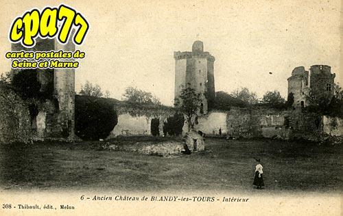 Blandy Les Tours - Ancien Château - Intérieur