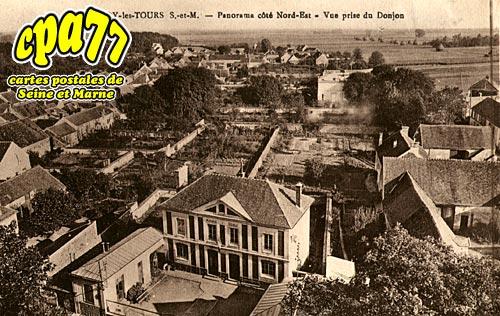 Blandy Les Tours - Panorama côté Nord-Est - Vue prise du Donjon
