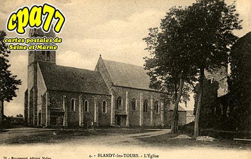 Blandy Les Tours - L'Eglise