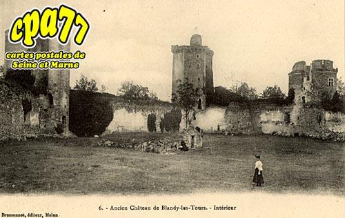 Blandy Les Tours - Ancien Château de Blandy-les-Tours - Intérieur