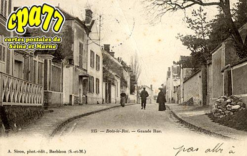 Bois Le Roi - Grande Rue