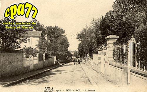 Bois Le Roi - L'Avenue