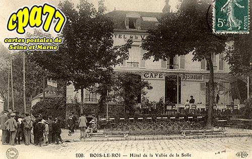 Bois Le Roi - Hôtel de la Vallée de la Solle