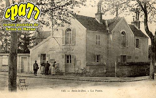 Bois Le Roi - La Poste