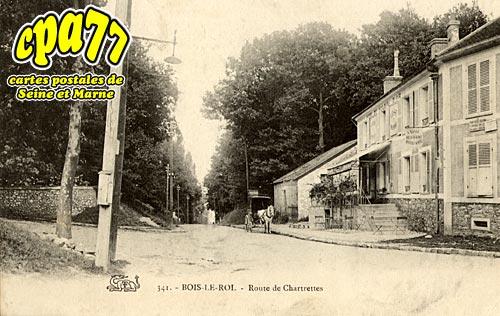 Bois Le Roi - Route de Chartrettes (en l'état)