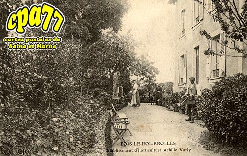 Bois Le Roi - Etablissement d'horticulture Achille Varly