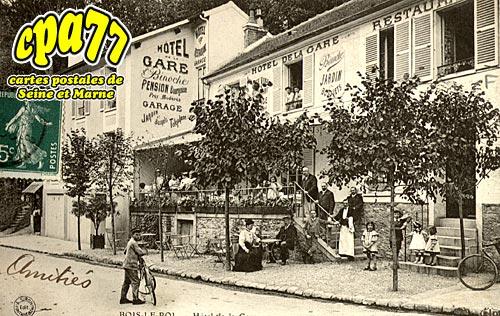 Bois Le Roi - Hôtel de la Gare