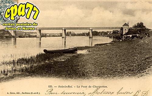 Bois Le Roi - Le Pont de Chartrettes