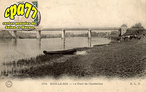Bois Le Roi - Le Pont de Chartrettes (en l'état)
