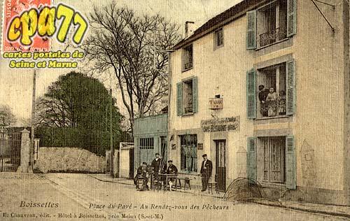 Boissettes - Place du Pavé - Au Rendez-vous des Pêcheurs