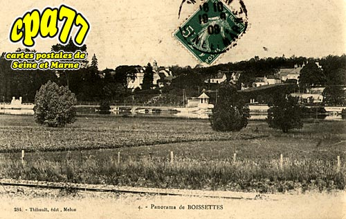 Boissettes - Panorama