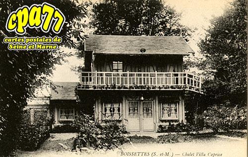Boissettes - Chalet Villa Caprice