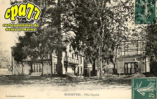 Boissettes - Villa Caprice