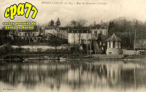 Boissettes - Rue du Général-Clinchant