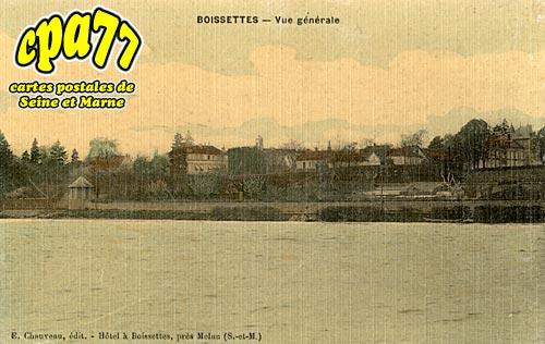 Boissettes - Vue générale