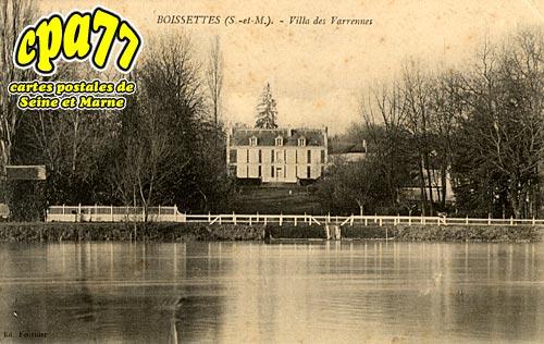 Boissettes - Villa des Varrennes