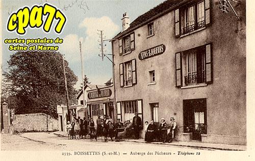 Boissettes - Auberge des Pêcheurs