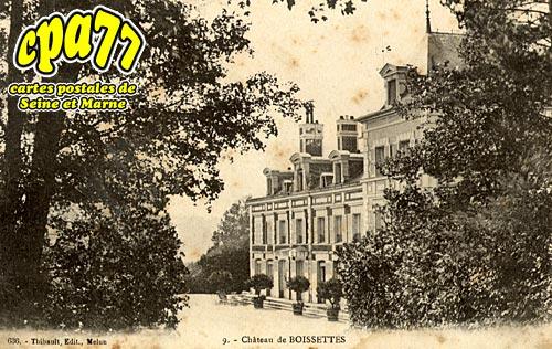 Boissettes - Château de Boissettes