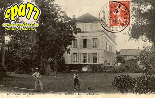 Boissettes - Belles-Rives