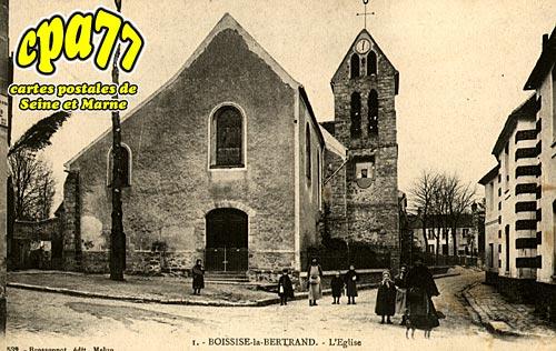 Boissise La Bertrand - L'Eglise