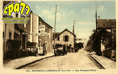 Boissise La Bertrand - Rue François-Rollin