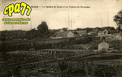 Boissise La Bertrand - Les Jardins du Lavet et les Pylônes de Ste-Assise