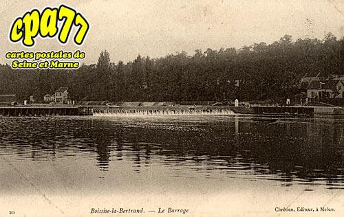 Boissise La Bertrand - Le Barrage