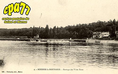 Boissise La Bertrand - Barrage des Vives-Eaux